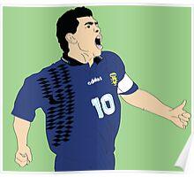Maradona World Cup '94 Poster