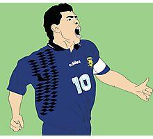 Maradona World Cup '94 Photographic Print
