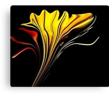 Tiger Lily Abstract Canvas Print