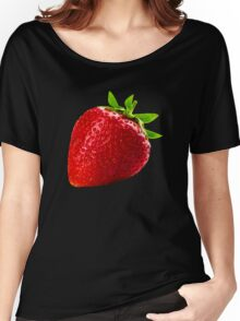 Giant Strawberry Women's Relaxed Fit T-Shirt
