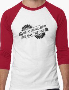 BLiNkY bLaCk Men's Baseball ¾ T-Shirt