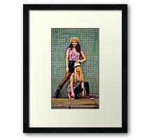 BAFS Majo&Naty 17 Framed Print
