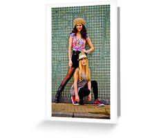 BAFS Majo&Naty 17 Greeting Card