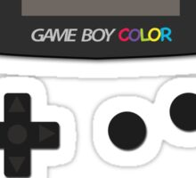 Video Retro Game Boy Console  Sticker