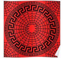 Spiderman Meander Poster