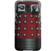 Doctor Who Inspired: Dalek Iphone case - Red Samsung Galaxy Case/Skin