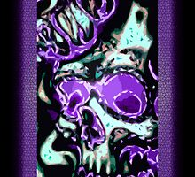 PurpleSkull by Infinipix