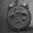 Afraid Clock by LacerdaZoom