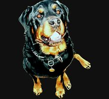 Rottweiler Photo Portrait Unisex T-Shirt