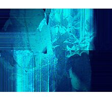 abstract icebergs Photographic Print
