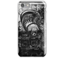 ©DA Exist Not Be Fractal IAH2 Monochrome iPhone Case/Skin