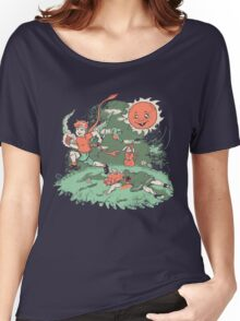 Tommy Tentacles Stole Betty Lou's Heart Women's Relaxed Fit T-Shirt