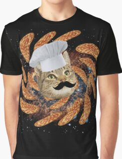 Chef Cat Graphic T-Shirt
