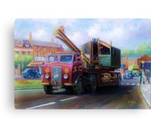 ERF low-loader Canvas Print