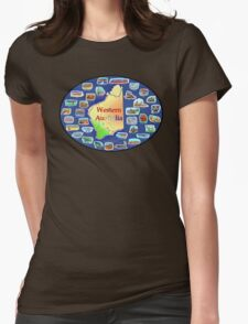 Western Australia Womens Fitted T-Shirt
