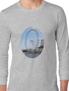 London - Eye in Britain Long Sleeve T-Shirt