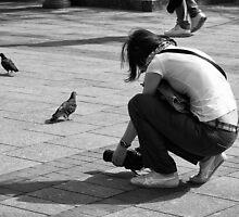 Pigeons Hunter by Roman Naumoff