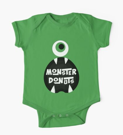 Monster Donut One Piece - Short Sleeve