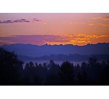 Lowell Sunrise Photographic Print