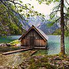 Framed boathouse by Béla Török