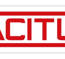 Tacitus red Logo - Call of Duty Black Ops 2 Sticker