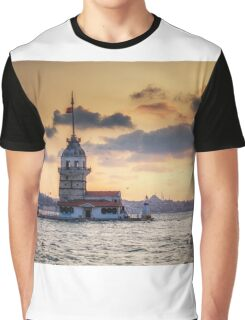 Maidens Tower Graphic T-Shirt