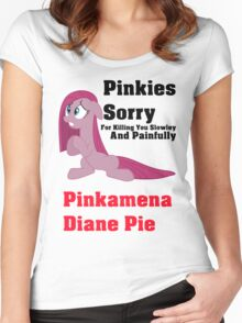 Pinkamena Dane Pie T-Shirt Women's Fitted Scoop T-Shirt
