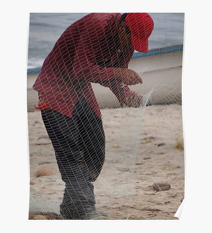 In The Fishing Net - En La Red Poster