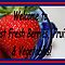 Welcome Banner for Best Fresh Berries, Fruits and Vegetables