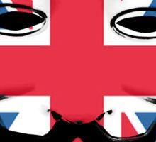 Guy Fawkes British Flag Sticker