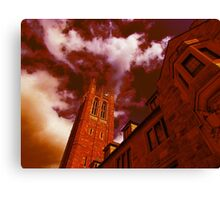 Red Gothic Canvas Print
