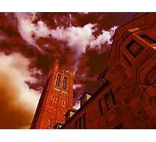 Red Gothic Photographic Print