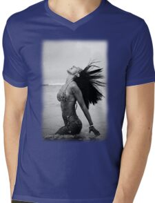 Caribbean Girl 06 Mens V-Neck T-Shirt