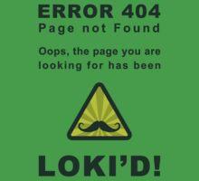 Error 404 Loki'd! Kids Clothes