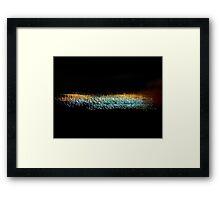 ©NLE Hertz Frequency I Framed Print