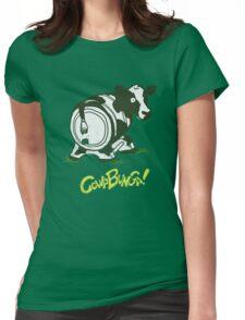 Cowabunga! Womens Fitted T-Shirt