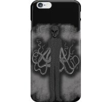 Spooky Slender Man with Tentacles iPhone Case/Skin