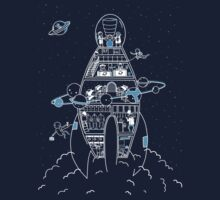 Interstellar Travels Kids Clothes