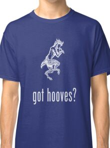 got hooves? White Classic T-Shirt
