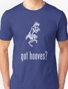 got hooves? White Unisex T-Shirt
