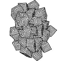 Cube Type of Life Photographic Print