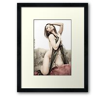 seduce you Framed Print
