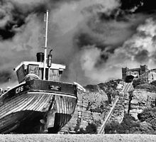 High and Dry - BW by Graham Taylor