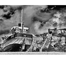High and Dry - BW Photographic Print