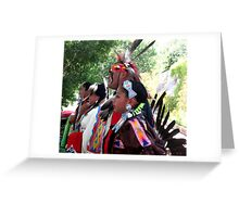 Native Americans Greeting Card