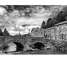Beddgelert Village - B&W Photographic Print