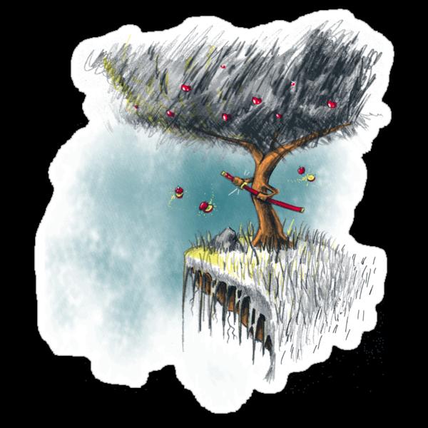 Apple Ninja by kevlar51