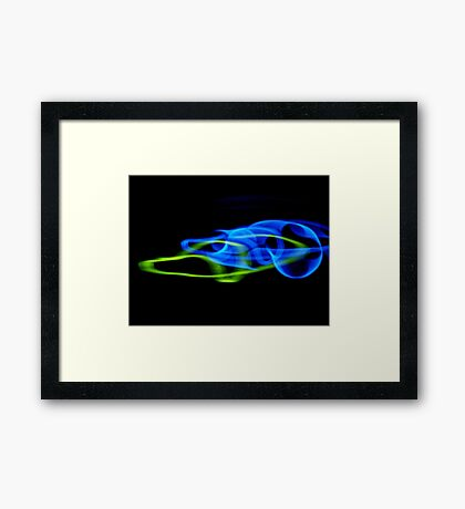©NLE Drive By Ligth Framed Print