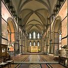 The Sanctuary, Rochester Cathedral, Kent, England by Bob Culshaw