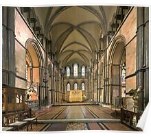 The Sanctuary, Rochester Cathedral, Kent, England Poster